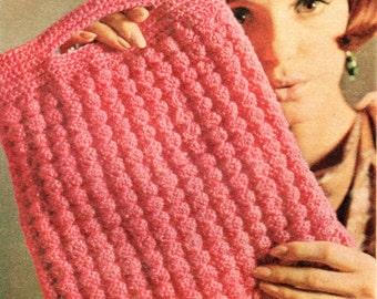 Vintage Crochet Clutch Purse/Bag Pattern.