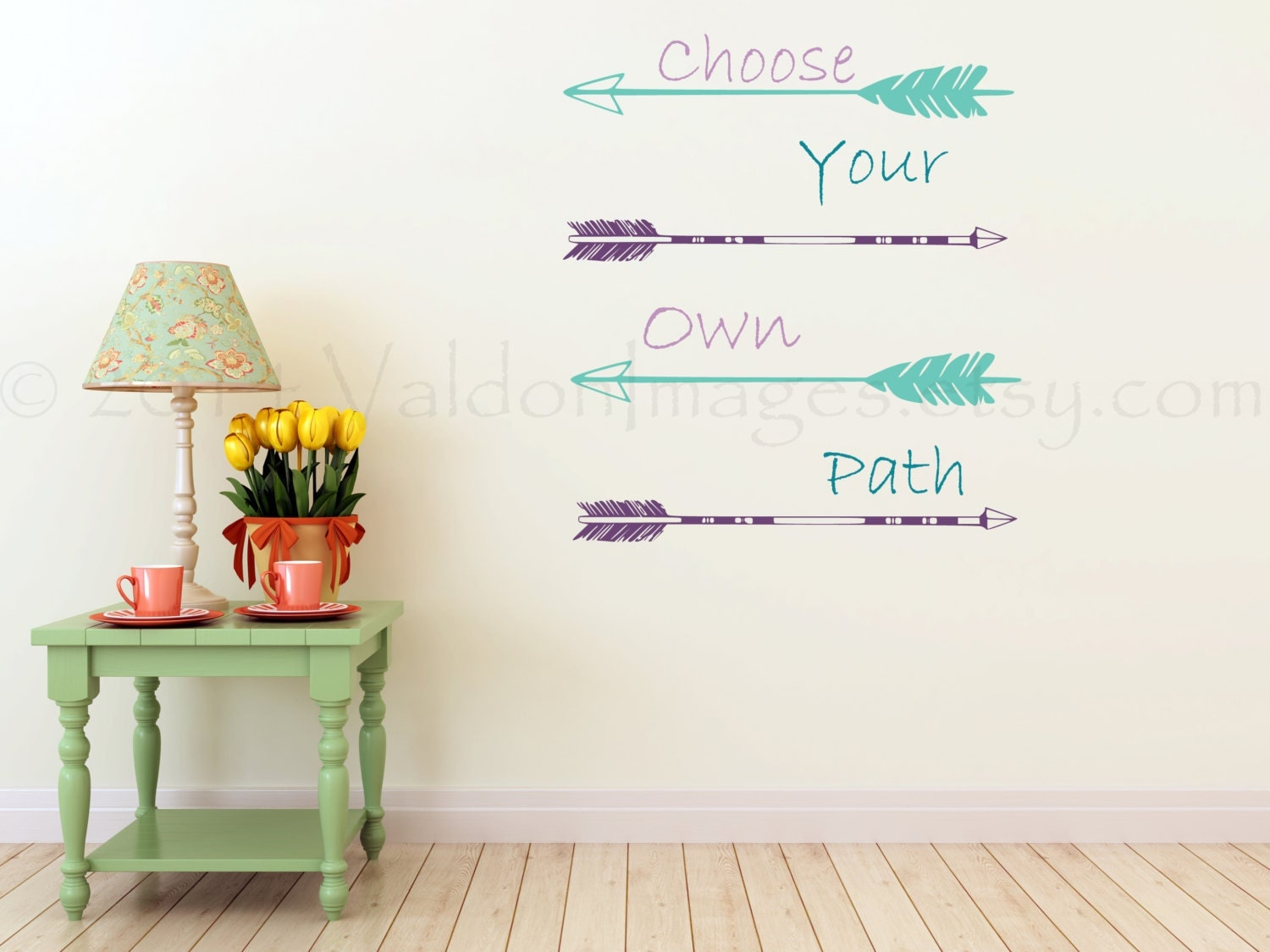 Arrow Wall Decal Choose Your Own Path Wall Decal By