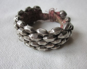 old Punjab silver bracelet
