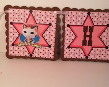 Sheriff Callie Birthday Banner