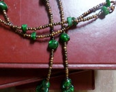 "22"" Beaded  Necklace ~~ Causal Wear"