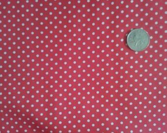 Autumn / Winter Polka Dot Fabric