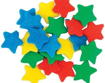 Wilton Jumbo Stars Sprinkles - edible sprinkles cake, cupcakes, cookies, cake pop decorations - star sprinkles
