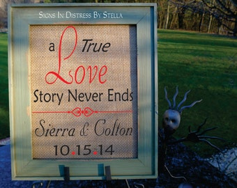 Love Art, Personalized Wedding, House Warming Gift, Husband Gift, Wife Gift, Wedding Date, Wedding Anniversary.  (AED-L01)