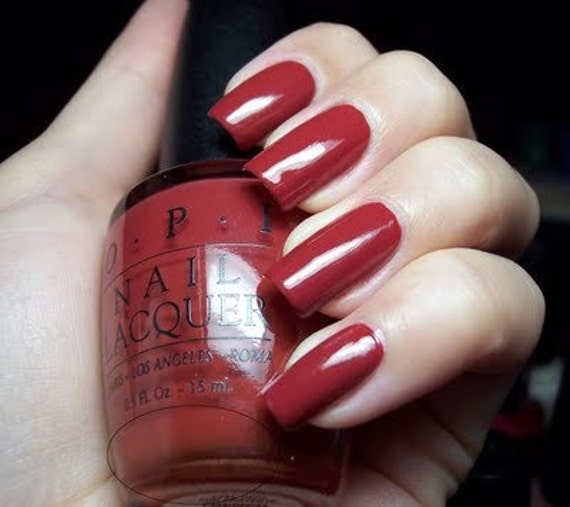 OPI French Cognac Vintage Nail Polish Lacquer By LoveThoseNails