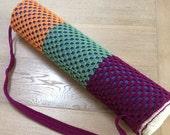 Crochet Yoga or Pilates Mat Bag
