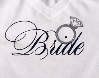 Bride shirt! Customized for your colors