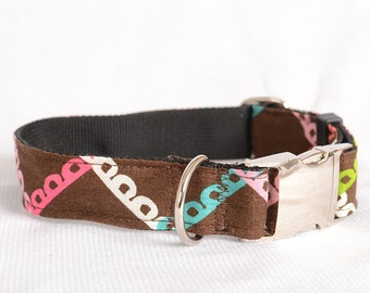Laser Engraved Personalized Dog Collar,Fabric 49