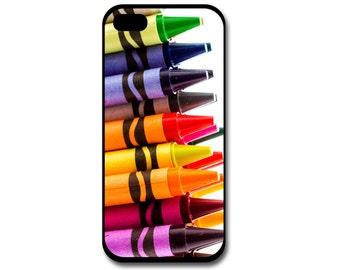 Crayons Phone Case, Crayola, Teacher, Phone Case, Artist Phone Case, Art, Coloring