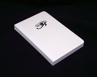 The book of Ra, 13X21 white cover, grid