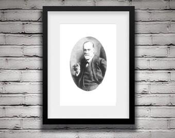 Sigmund Freud Portrait