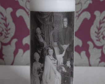 The Munsters - Scented Pillar Candle