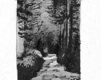 Path to the Beach (print)