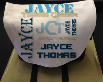 Monogram Diaper Bag_Personalize with your baby's name