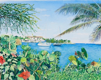 View from Peanut Island  11 x 14 - 75.00 and  160 x 20 - 95.00