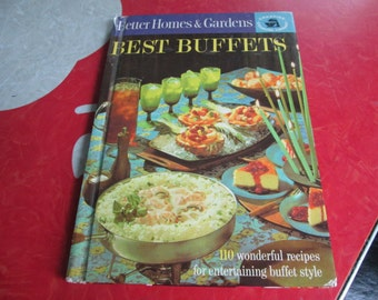 Vintage Better Homes & Gardens Best Buffets cookbook