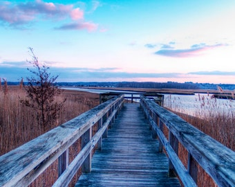 Nature Photography - Dock Photography - Scituate, MA - Long Walk - Landscape Photography