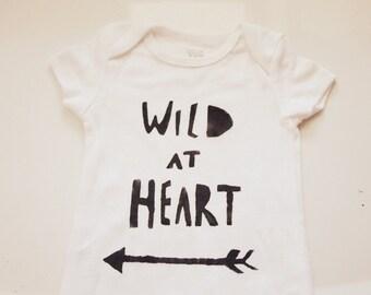 Baby Bodysuit- Wild at Heart