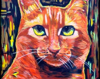 ORANGE TABBY, Red Tabby, Orange Cat