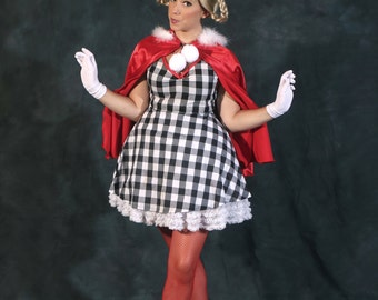 Handmade Adult Cindy Lou Who Costume How The Grinch Stole Christmas, Halloween, Theatre