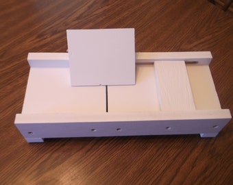 Handmade Soap Beveler/Planer made out of PVC With Safety feature-Easy to Clean