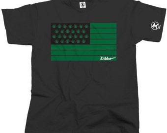 United States Of Chronic Cannabis Tshirt (Black) From Dibbs