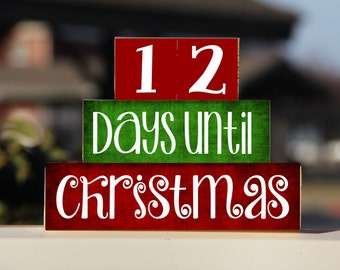 Christmas Countdown Etsy