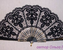Bobbin Lace Fan-2 bobin lace
