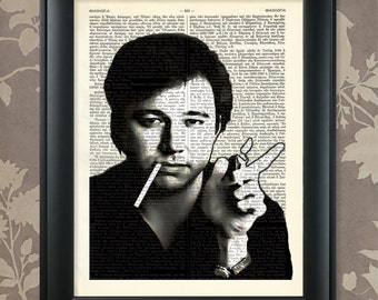 Bill Hicks / Bill Hicks art, Bill Hicks print, Bill Hicks poster, Bill Hicks comedian, Bill Hicks gift, Bill Hicks quote, Bill Hicks icon