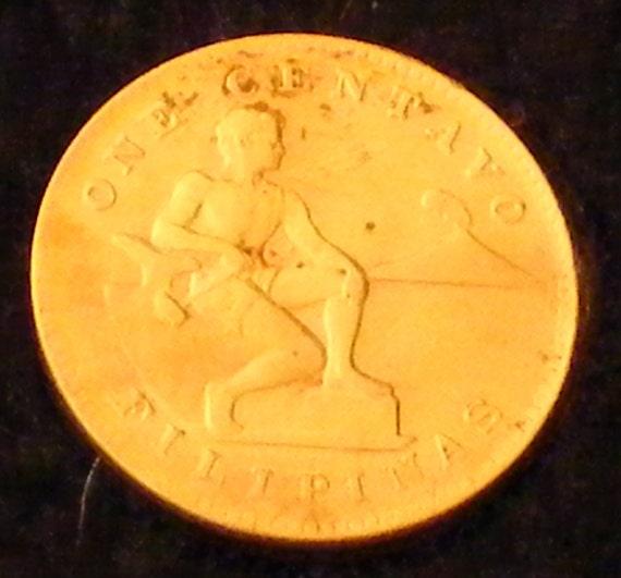 ONE CENTAVOS 1944 (Fililpinas) . . Great Investment . .