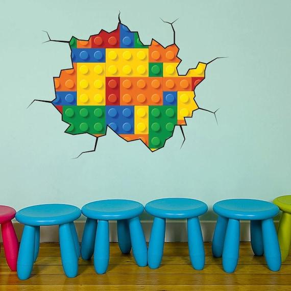 Lego muursticker