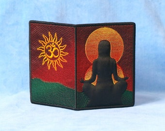 Passport Cover for a Yoga Fan
