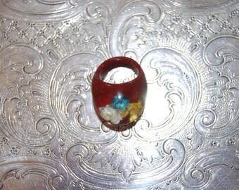 1940's Bakelite Ring