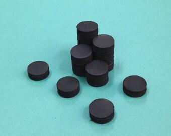 "50 Ceramic Magnets - 1/2"" 13 mm"