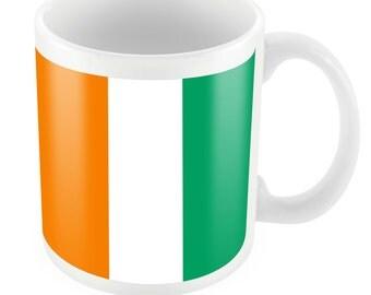 Ivory Coast Road To World Cup Ceramic Mug Gift Birthday Present Novelty Brasil 2014