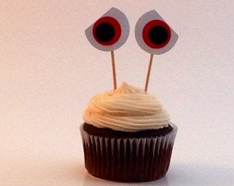 Eyeball Cake Picks