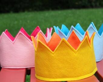 Felt Crown- Toddler, Child, Adult