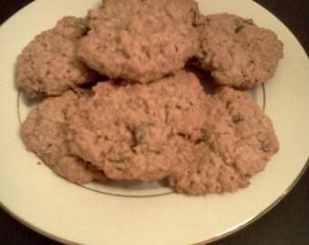 Homemade Oatmeal Raisin Cookies!