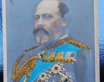 5 British Royal Family Postcards 1902 King Edward VII & Queen Alexandra