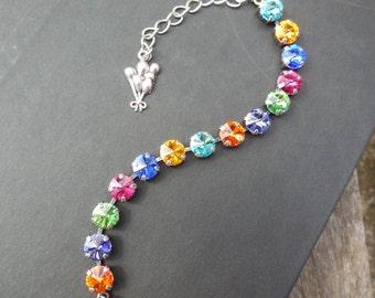 Up balloons inspired Disney themed Crystal Bracelet