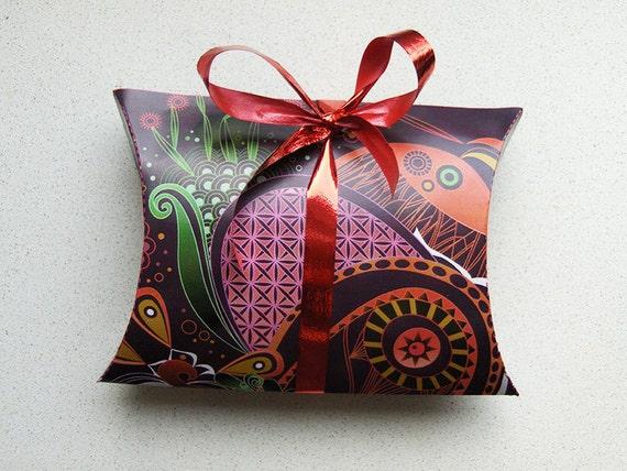pillow gift box template .