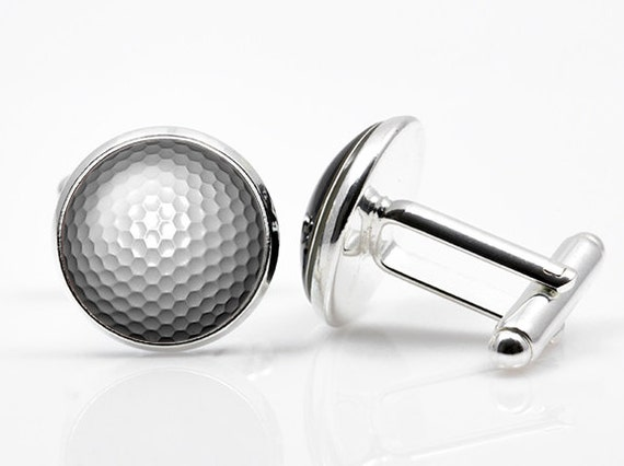 Cufflinks golf ball cufflink golf ball cufflinks men for Golf buflings
