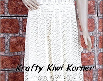Crochet Lace Summer Short Dress- Made to Order