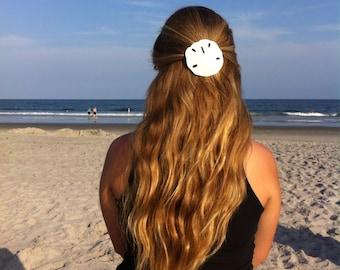 Sand Dollar Hair Clip Beach Barrette