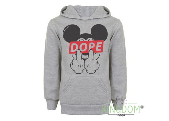 Mickey Mouse Middle Finger Obey Mickey Dope Finger Mouse Cat