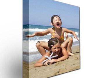 Photo to Canvas, Kids,, family Photo  Gift, Custom Canvas,  Family photo, grandpa Gift, Custom Wall Decor. Christmas Gift,canvas printing
