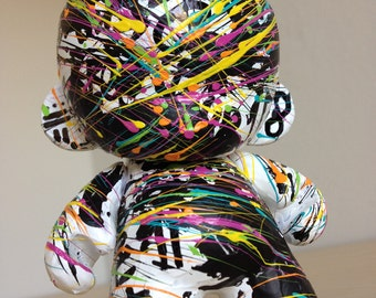 4in Munny Vinyl Figure hand painted by emKel