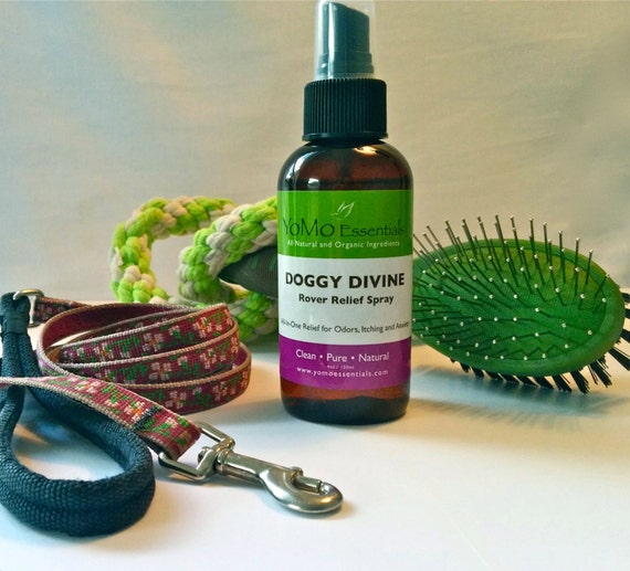 DOGGY DIVINE Rover Relief Spray for Itching, Odors and Anxiety