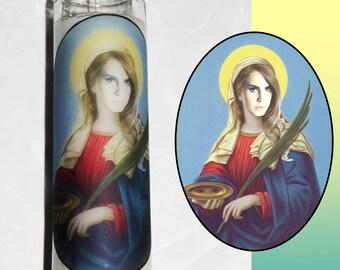 Lana Del Rey Prayer Candle