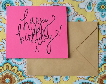 Happy Birthday! Cards ( Pack of 10, Blank Inside)